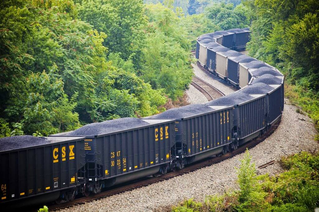 Coal Railcar Storage